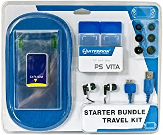 Hyperkin PS Vita Starter Bundle Accessory Kit with Protective Sleeve