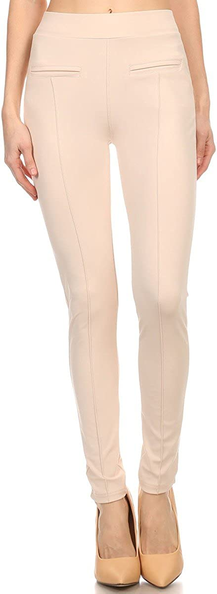 Factory outlet LA12ST Women Stretch Comfortable Trousers Pants Sk Pencil Casual Ranking TOP19
