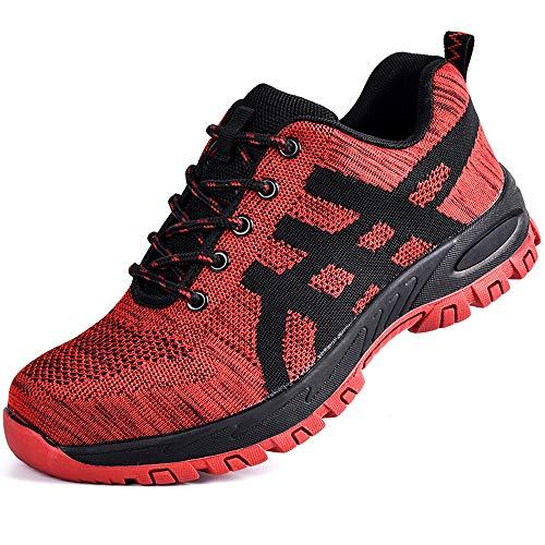 SUADEEX Zapato Seguridad Zapatos Trabajo con Puntera de