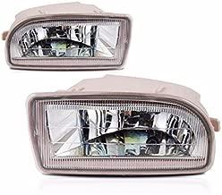 Clear Lens Fog Light Bumper Lamps Kit For 1998-2007 Toyota Land Cruiser FJ100