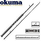 Okuma Cortez Black 223cm 6-12lbs - Bootsrute zum Meeresangeln Pilkrute für Dorsch & Seelachs Bootsruten für Norwegen & Island Meeresrute