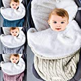 envoltura de cochecito de bebé, manta de bebé, saco de dormir para recién...