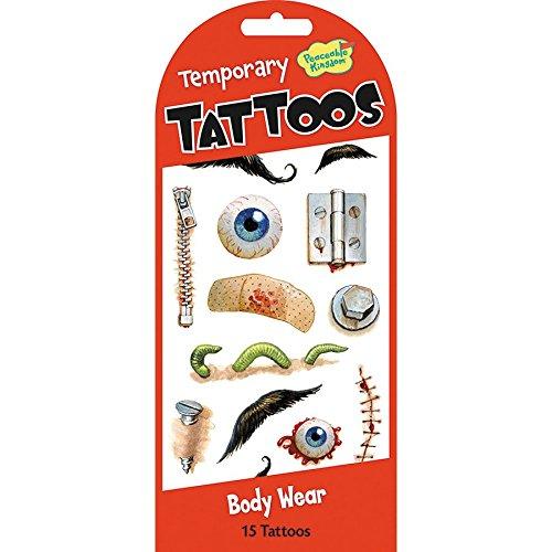 Jouer tatouages temporaires - l'usure du corps