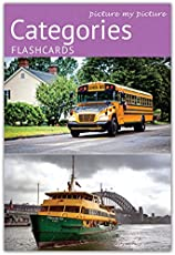 Picture My Picture Categories Flash Cards | 40 Language Development Educational Photo Cards | Speech Therapy Materials, ESL Materials