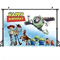 子供背景背景画面漫画おもちゃストーリー写真背景背景バナー誕生日パーティー写真スタジオ背景青空白い雲宇宙ビデオ撮影背景