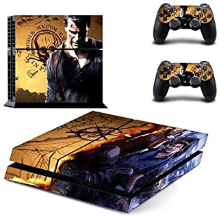Shooter game - PS4 Skin Console and 2 Controller, Vinyl Decal Sticker Full Cover Protective by Mr Wonderful Skin