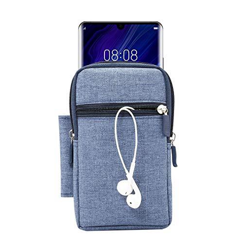 SZCINSEN Cartera para teléfono celular, bolsillo de lona, bolso pequeño, bolsa para cinturón para teléfono móvil