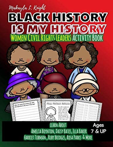 Black History Is My History Women Civil Rights Leaders Gift for African American Children 7 product image