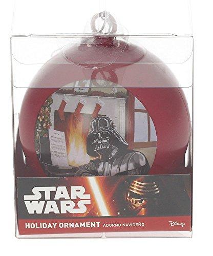 Star Wars Darth Vader Piano Weihnachtskugel, weiß, 8x 8x 8