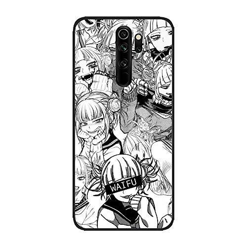 BAMANER Case for XIAOMI Redmi Note 8 Pro, Himiko-Toga Smile Cute 1 Black TPU Matte Coque Fit Flexible Ultra-Thin Protective Phone Case