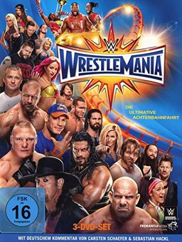 Wrestlemania 33 [3 DVDs]