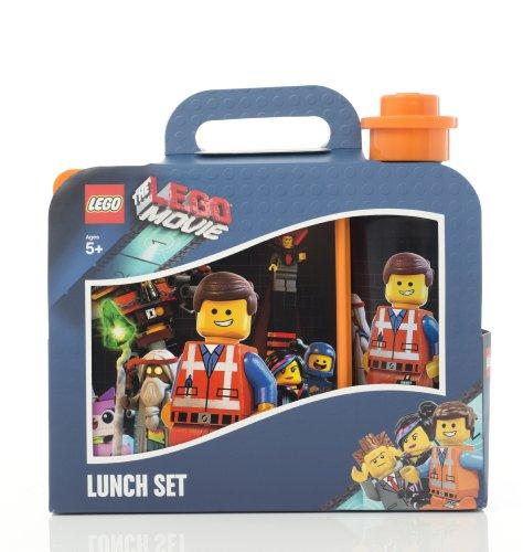 LEGO Lizenzkollektion 40591750 - The Movie Brotdose und Trinkflasche, Motiv: Emmet
