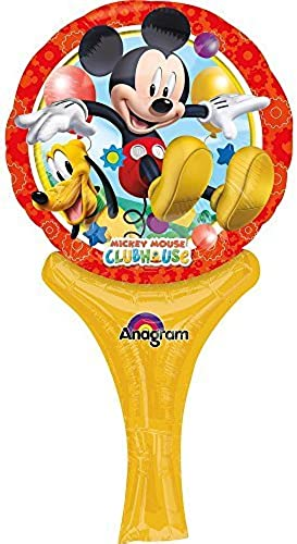 Mickey 12 Inflate-A-Fun Balloon (Each) by Mayflower Products