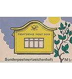 Goldhahn DDR Sondermarken-Heftchen SMHD 42 postfrisch ** Briefkasten Briefmarken für Sammler