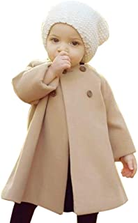 SWNONE Baby Coats 2018 Winter Kid Baby Girl Cloak Button Jacket Clothes Baby Outwear Clothes