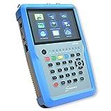 Bild des Produktes 'SUMMIT SCT 835 Kombi Messgerät für SAT (DVB-S/S2), Terrestrisch (DVB-T/T2), Kabel (DVB-C)'