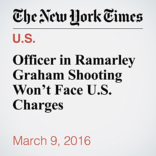 Officer in Ramarley Graham Shooting Won't Face U.S. Charges cover art