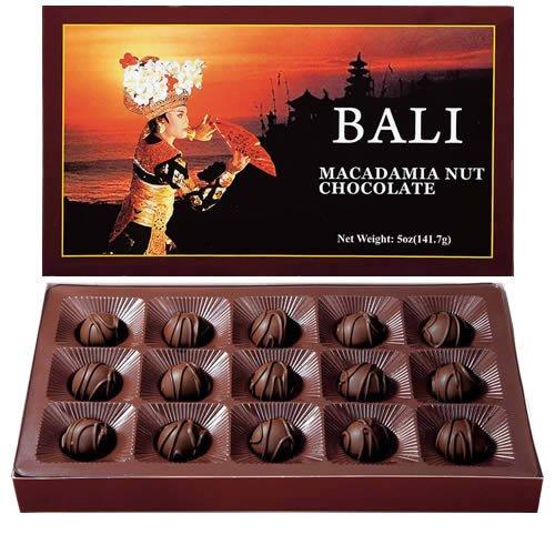 バリ マカダミアナッツ チョコ15粒 1箱