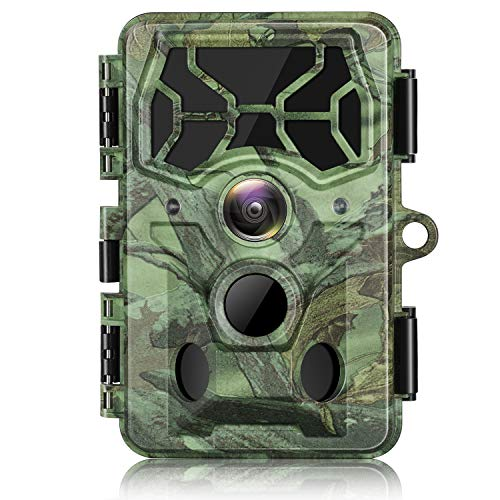 Campark 4K 30MP Trail Camera WiFi Bluetooth Hunting Game Camera with Night Vision Motion Activated Waterproof IP66 for Wildlife Monitoring