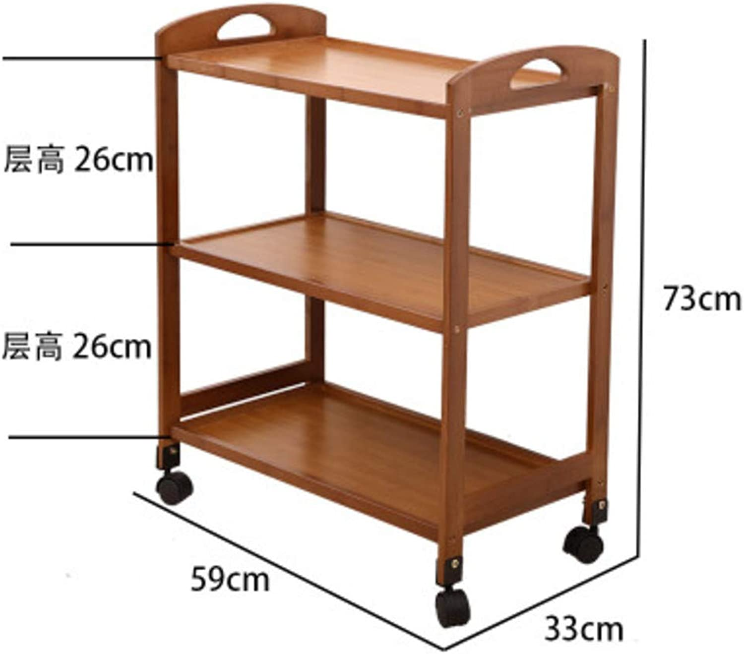 Home Kitchen Dining car,Storage with Removable Shelves Beauty Salon Hotel Kitchen cart Mobile Coffee Serving cart-D
