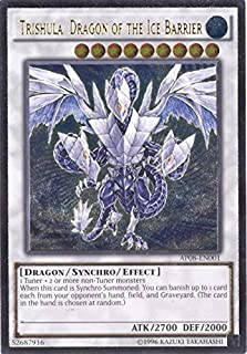 YU-GI-OH! - Trishula, Dragon of The Ice Barrier (AP08-EN001) - Astral Pack: Booster Eight - Unlimited Edition - Ultimate Rare