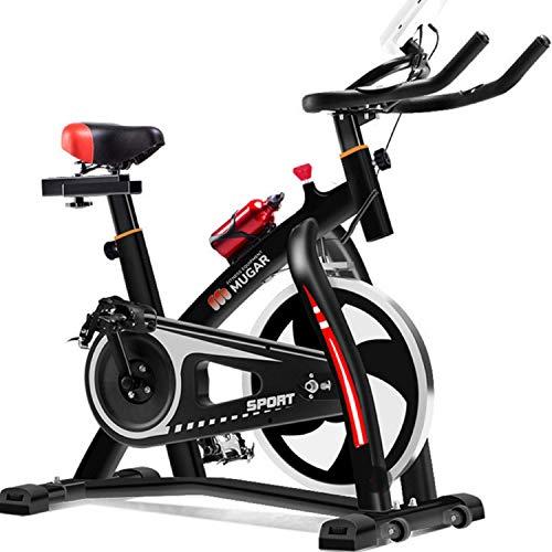 MUGAR Bicicletas Estáticas Spinning MG-VARIOS MODELOS y CINTAS DE CORRER, Fitness Spinning Bike Aerobic Home, silenciosa con pantalla táctil PARA ALTURAS DESDE 1.65 M HASTA 2.00 METROS (MG-500)