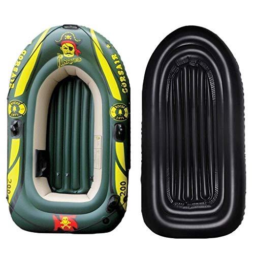 Challenger Kayak - Outdoor Assault Boat Komfortables Kajakfahren Freizeit Faltboot 2/3/4 Personen Schlauchboot Marine Sportfischen Abenteuer Dicker, verschleißfester PVC-Kunststoff