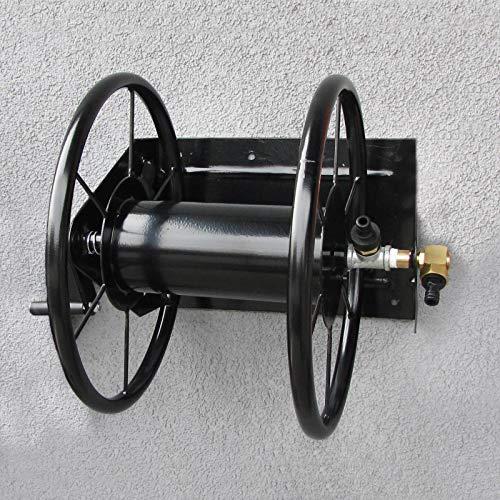 RAMROXX 34187 RAMROXX Schlauch Wandhalter Schlauchaufroller bis 60m Gartenschlauch