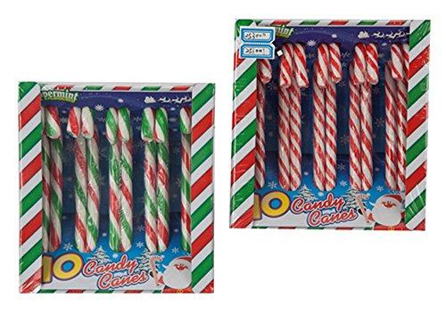 10 Kerstmis Pepermunt gearomatiseerde snoepjes - 2 Packs of 4 Packs van 10