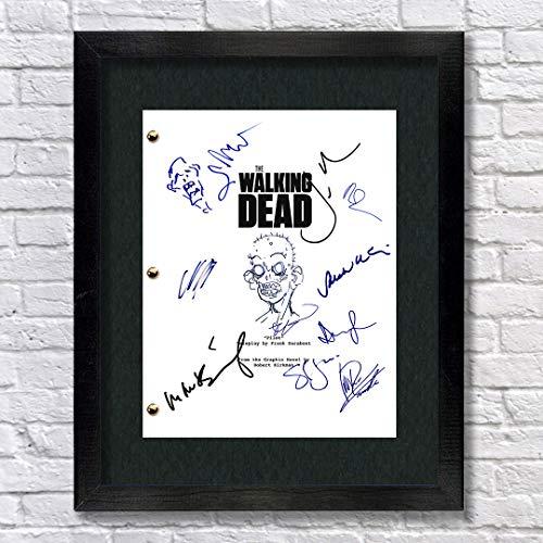 The Walking Dead Autographed Signed Reprint 8.5x11 Script UNFRAMED - Andrew Lincoln, Norman Reedus, Jon Bernthal, Chandler Riggs, Wayne Callies