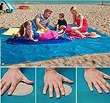 Easyinsmile Sand Free Beach Mat Blanket Sand Proof Blanket,Sand Proof Magic Sandless S