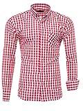 Kayhan Hombre Camisa, K-2014 Red (M)