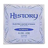 HISTORY HEGSN036 エレキギター弦 A-5th .036 バラ弦1本 (ヒストリー)