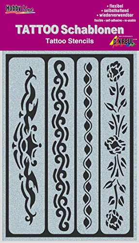 KREUL Hobby Line Tattoo sjabloon tape, 1 stuk