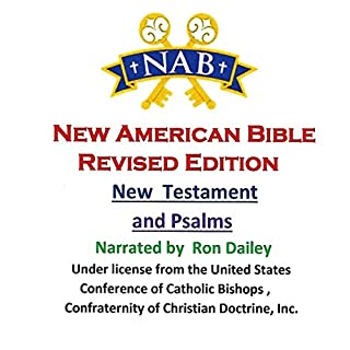 New Testament and Psalms audiobook cover art