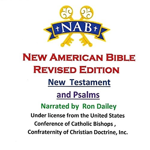 The New American Bible, Revised Edition - New Testament and Psalms audiobook cover art