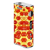 Skin Decal Vinyl Wrap for eLeaf iStick 100w Vape Mod / Pepperoni Pizza
