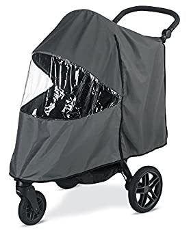 Britax B-Free Stroller Wind and Rain Cover   Easy Install + Air Ventilation + Storage Pouch Included