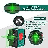 Immagine 1 livella laser verde 45m hychika