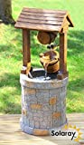 Solar Powered Wishing Well Water Feature by Solaray