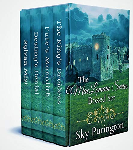 The MacLomain Series (Books 1-4)- A Scottish Time Travel Romance Boxed Set