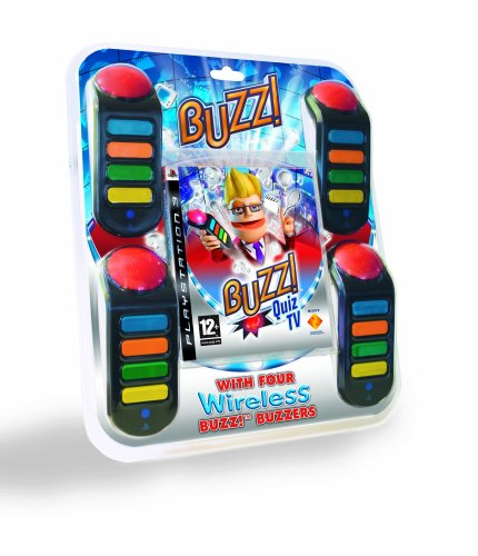 Buzz! Quiz TV with Buzzers (PS3) [Import anglais]