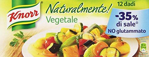 Knorr Dado Vegetale senza Glutammato - 12 dadi