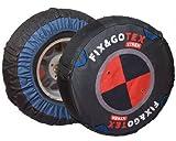 Fix&Gotex - Xtrem - Chaines Neige Textile 4X4 - Suv - Fix&Gotex Xtrem - Réf : O1 265/70/15 215/16 215/80/16 245/70/16 225/70/17 245/65/17 225/65/18 245/60/18 285/50/18 235/55/19 265/50/19 285/45/19 245/50/20 295/40/20 265/40/21