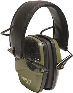 هوارد لایت توسط Honeywell Impact ورزش تقویت کننده صدا تیراندازی الکترونیکی Earmuff، کلاسیک سبز (R-01526)
