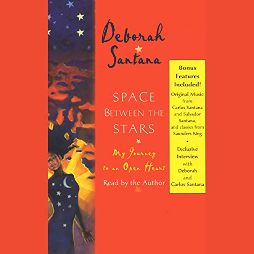 Space Between the Stars audiobook cover art