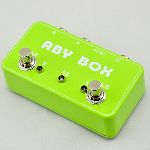 TTONE Guitar Effects ABY Boutique Pedal Switch True Bypass Footswitch for Guitar Grass Green