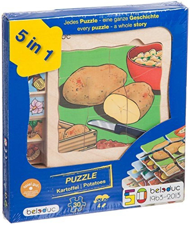 Beleduc 5 Layer Potato Puzzle by Beleduc