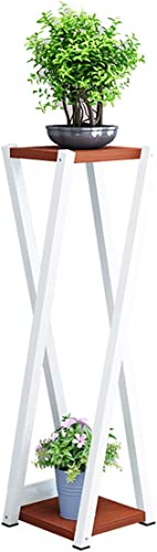 Mode nach Hause ZHILIAN infacher Boden Blaumenst er Familienwohnzimmer Balkon Doppelte Blaumenablage Ausstellungsstand Mehrfarbig Optional (Farbe   A, Größe   20X20X6cm)