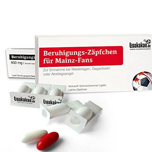 Geschenk männer ist jetzt BERUHIGUNGS-ZÄPFCHEN® für Mainz 05-Fans by Ligakakao.de